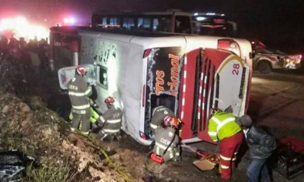 Un accidente de autobús en Brasil dejo 10 muertos y 51 heridos