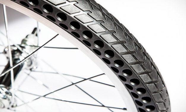✌ Tres amigos inventan ruedas de bicicleta que no se desinflan ✌