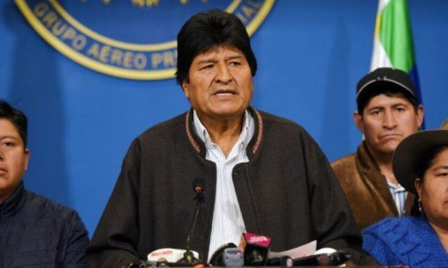 😮 Bolivia : Evo Morales renuncia a la presidencia de la república 😮