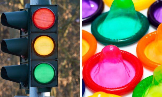 """✌ Crean el """"condón semáforo"""" que cambia de color avisando sobre ETS ✌"""