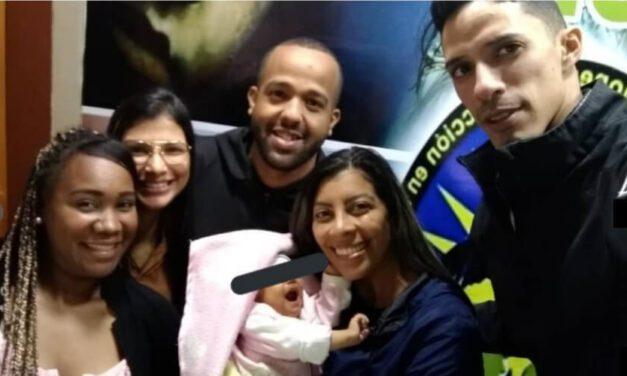✅ Rescatan a bebé raptada la semana pasada en Caracas ✅