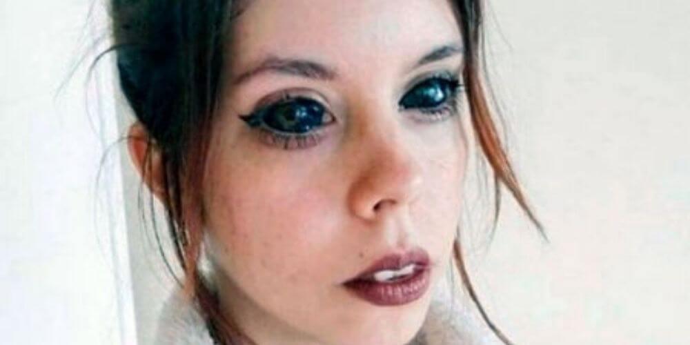 😮 Increíble: Quedó ciega luego de haberse tatuado los ojos 😮