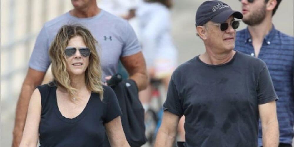 ✌ Se recuperaron: Tom Hanks y su esposa regresan a casa ✌