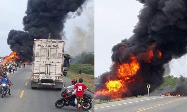 Identifican la mayoría de los heridos que dejo explosión de un camión en Colombia