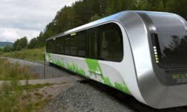 ✌️ El tren sustentable británico generará energía usando residuos ✌️