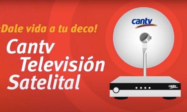 ✅ Suscriptores tienen hasta el 28Feb para crear perfil de usuario de Cantv Televisión Satelital ✅