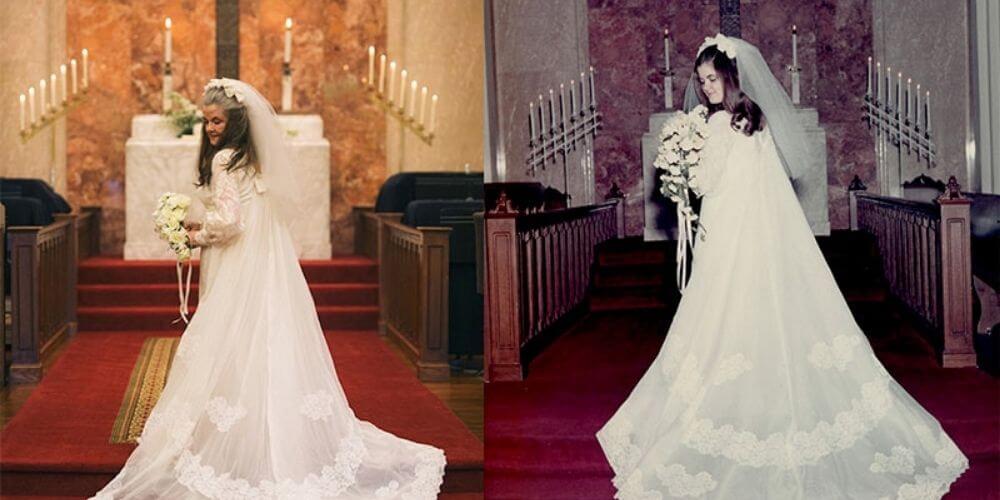 pareja-con-50-años-de-casados-revive-el-dia-de-su-boda-con-fotografias-carplyn-altar-novia-movidatuy.com