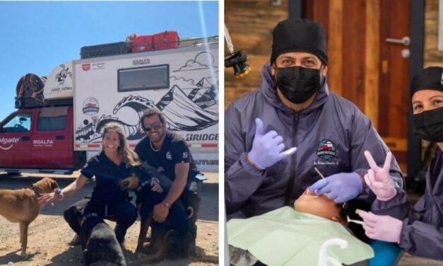 ✌️ Dentistas recorren Chile para brindar asistencia gratuita a los necesitados ✌️