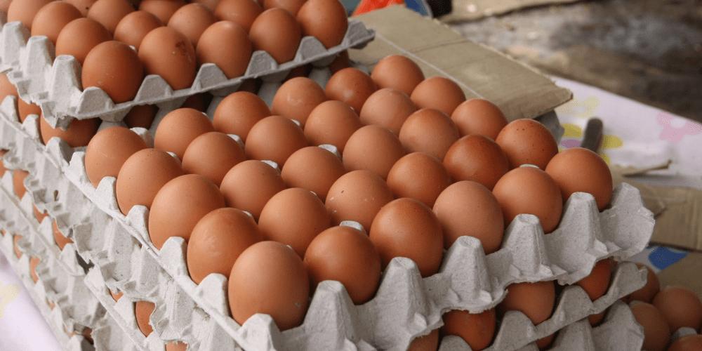 El cartón de huevo superó el aumento salarial del 1 de mayo de 2021