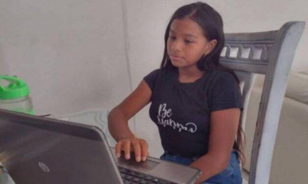 ✌️ Niña prodigio de 10 años gana una beca para estudiar en los Estados Unidos ✌️