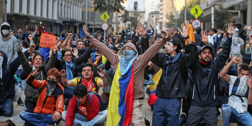 Nuevas protestas en Colombia y denuncian más de 1000 casos de abuso policial