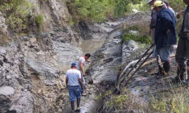 ✅ Fuertes lluvias provocaron sedimentación en la planta de tratamiento Ocumarito ✅