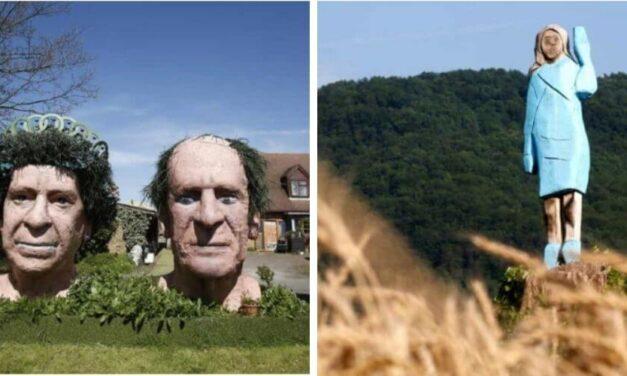 😮 Las 6 peores esculturas de famosos que no se parecen ni un poco a ellos 😮