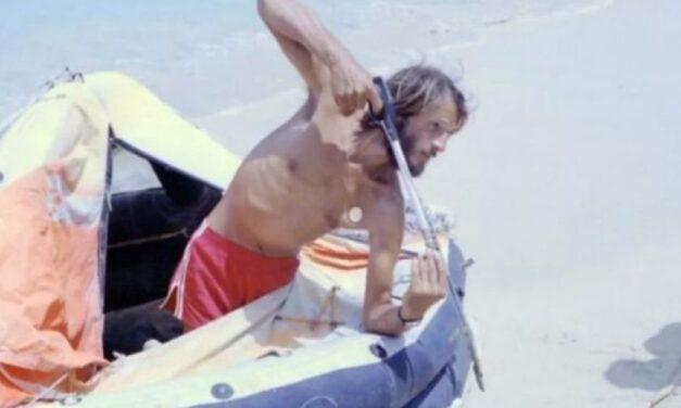 😮 Un náufrago pasó 76 días en el Océano Atlántico y llegó a tierra en un bote inflable 😮