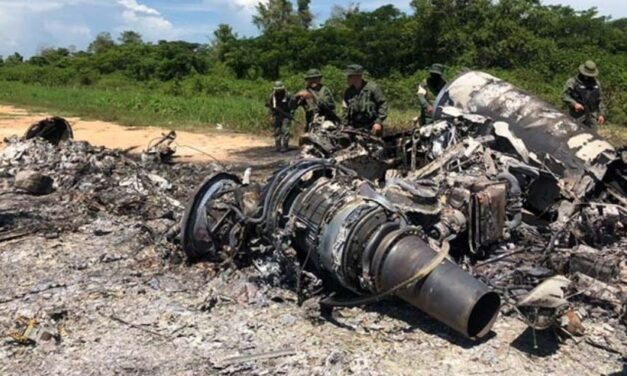 ✅ La Fanb neutralizó aeronave en una pista clandestina este martes ✅