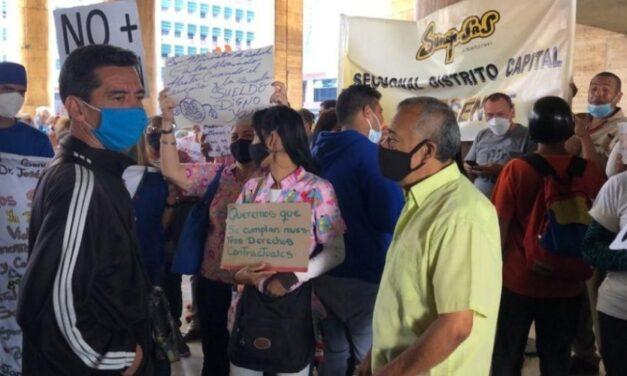 Suspenden los salarios del sector salud en plena lucha contra la Covid-19