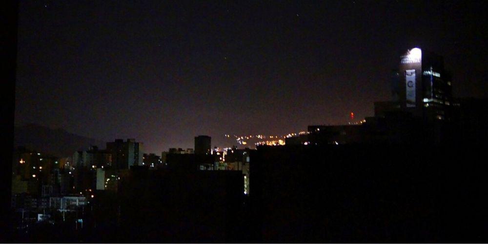 Fuerte bajón eléctrico afectó este lunes varias zonas de Caracas