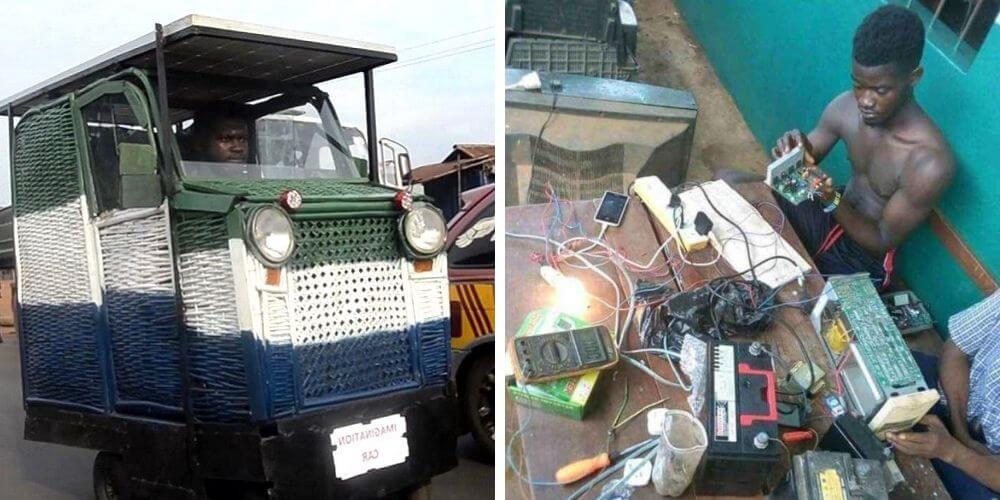 joven-africano-fabrico-un-coche-solar-con-bambu-y-chatarras-trabajo-invento-ingeniero-movidatuy.com