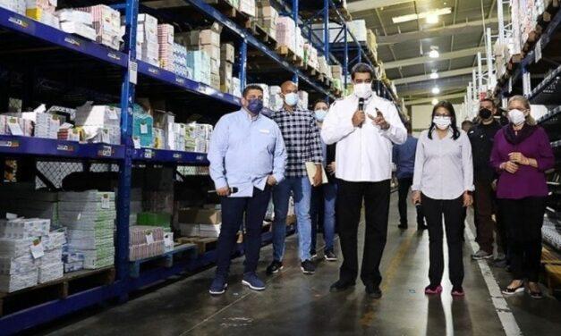 ✅ Presidente Maduro: El sector farmacéutico debe avanzar rumbo a la exportación ✅