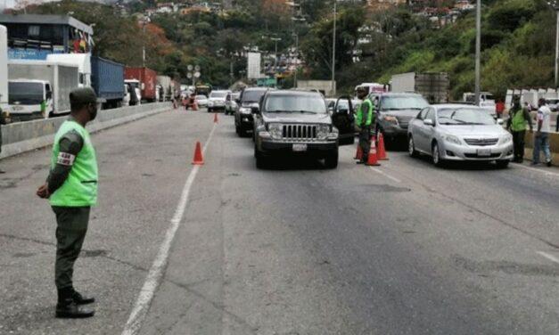 ✅ Retomaron controles para ingresar a Caracas ✅